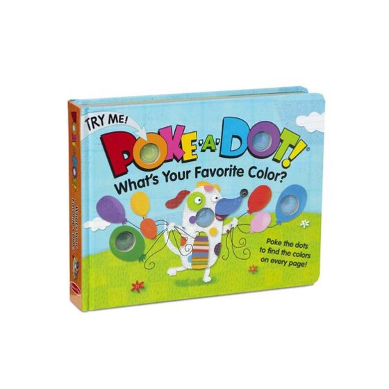 Poke A Dot! Book! What is your favorite color